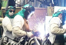 trabalho na indústria