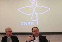 Brasília - Dom Leonardo Steiner e o cardeal Sérgio da Rocha durante abertura oficial da Campanha da Fraternidade 2017, na CNBB (José Cruz/Agência Brasil)