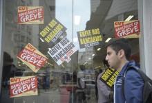 Rio de Janeiro - Bancos do centro do Rio fechados devido à greve dos bancários (Tânia Rêgo/Agência Brasil)