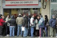 fila desempregados Espanha