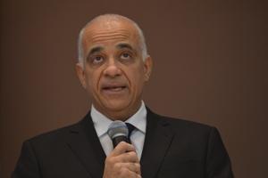 O novo presidente do Instituto de Pesquisa Econômica Aplicada (Ipea), Jessé de Souza, durante cerimônia de posse (Fabio Rodrigues Pozzebom/Agência Brasil)
