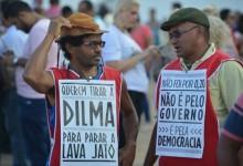 manifestantes democracia