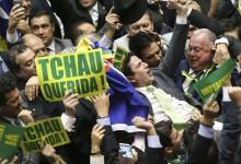 Brasília, DF, Brasil: O Deputado Bruno Araujo profere o voto que garante a autorizacao do processo de impeachment da presidenta Dilma Rousseff, no plenário da Câmara dos Deputados. (Foto: Marcelo Camargo/Agência Brasil)